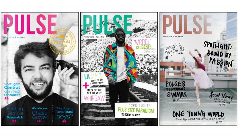 Pulse, CWU's Student Lifestyle Magazine, is up for a National Award