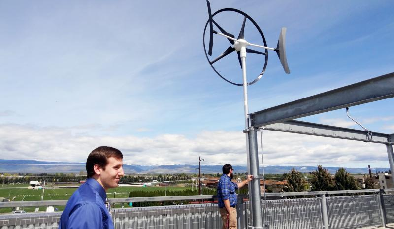 Grad Student Harnesses Wind for Master's Project