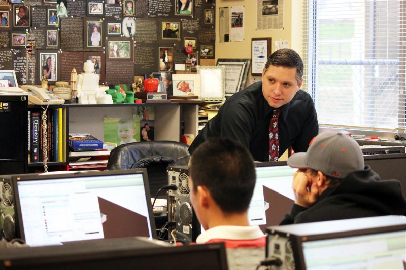 CWU Alumnus Named National Teacher of the Year