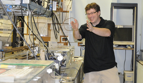CWU Professor Recognized Nationally for Physics Teaching