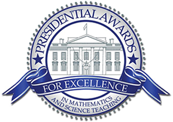 Presidential Award for Excellence in Mathematics and Science Teaching logo