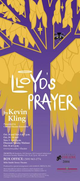 Lloyd's Prayer Poster