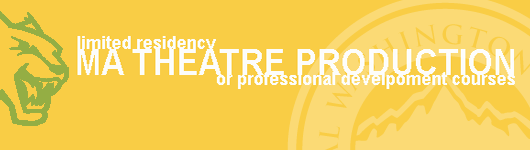 MA Theatre prodution for teachers in a Limited-residency format